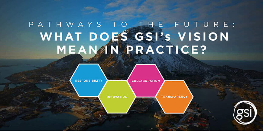 Collaboration, transparency, responsibility and innovation are GSI's Pathways to the Future for the Salmon Farming Industry
