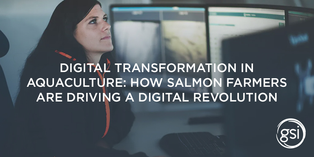 A view from Grieg, where digital technologies are driving environmental improvements for salmon farming.