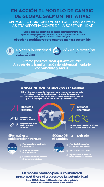 Gsi Infographic Gsi Change Model In Action Spanish