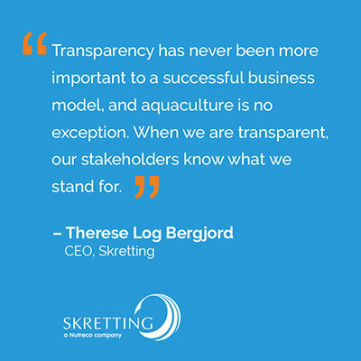 Transparency Quotes Skretting En