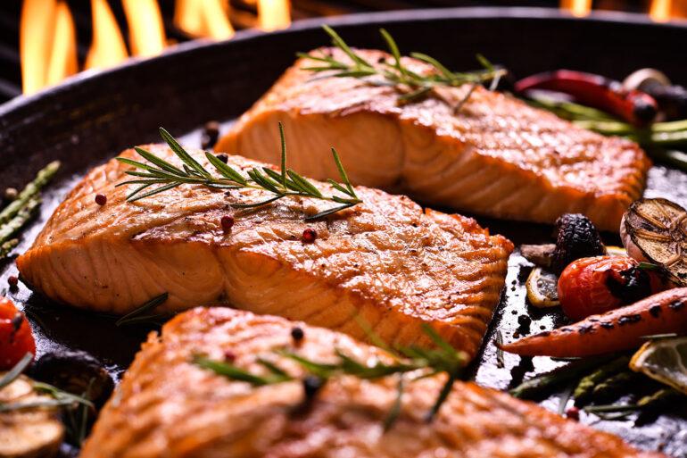 Myplate Salmon