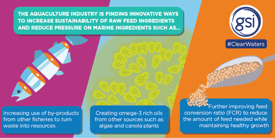 Demonstrating the innovations in aquaculture to improve the sustainability of marine ingredients and reduce pressure on fisheries