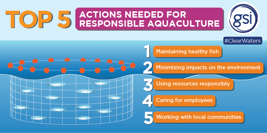 Clear Waters Top 5 For Responsible Aquaculture